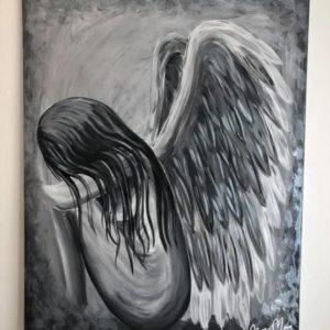The Sorrow In Her 70*90 cm Såld