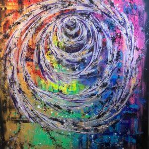 Sparkling Chaos 100*150 cm TILL SALU