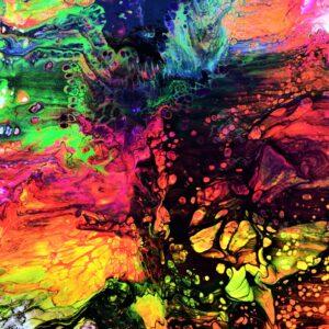 """""""Multiverse"""" 30*38 cm Till Salu (original och print)"""